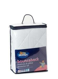 Silentnight bounceback mattress protector set was £35 now £14.40 with free delivery at BHS using code.