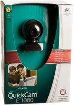 Logitech QuickCam E1000 £39.99 Now £2.49 Back in Stock @ WH Smith