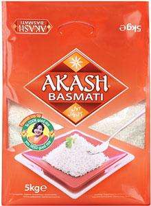 Akash Basmati Rice (5Kg) was £7.97 now 2 for £9.00 @ Asda