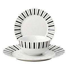 Tu 12 Piece Patterned Dinnerware Sets were £25 now £10 del to store @ Sainsbury's