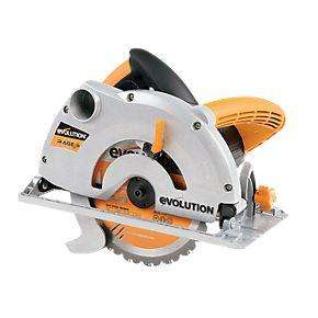 Evolution RAGE 1B 185mm Multipurpose Circular Saw 230V - £49.99 (plus £5 P+P) - Screwfix