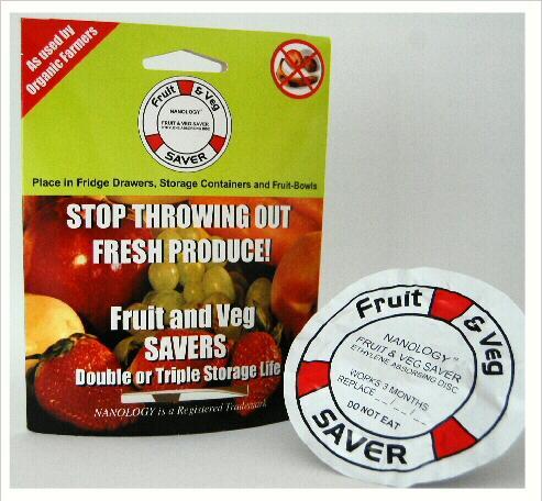 Fruit & Veg Savers (stops produce going off) £1.99 @ ALDI