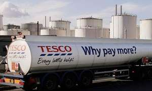 Tesco Petrol - £1.249 in Bishop Auckland