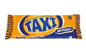 Taxi Chocolate Bars 9 Pack - £0.99 at Lidl