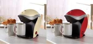 Cooks Professional Coffee Machine with 2 Mugs for £19.99 from Groupon (james-russell.co.uk) 70%off + £3.95 postage