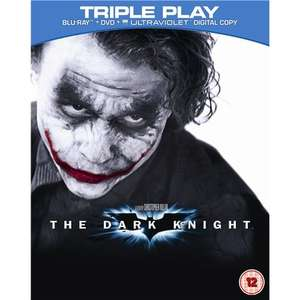Batman Begins & The Dark Knight Triple Play (Blu-ray) each @ HMV £10 (online and in-store)