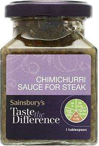 Chimichurri steak sauce 32p (reduced from £1.32) @ Sainsburys