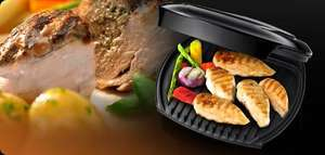George Foreman Entertaining Grill Black 18447 ... £29.99 - Lidl