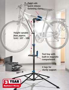 Bike Workstand £29.99 3 yr warranty, Fantastic Quality @ Lidl from 5th July