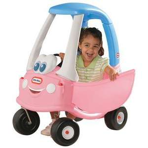 Little Tikes Cozy Coupe pink (anniversary edition) or red £29.99 Smyths