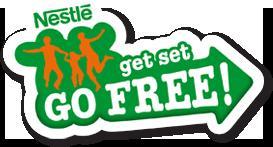 """Free"" Nestle GetSetGoFree activities - sailing, skiing, windsurfing, rafting, scuba, snowboarding, horse riding, climbing, canoeing, etc. with Nestlé Get Set Go Free promotion"