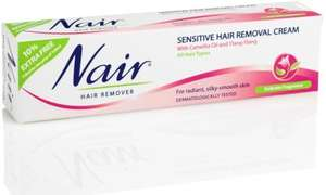 Nair Sensitive Hair Removal Cream , Poundland £1.00