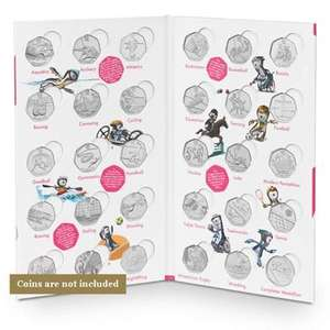 The Official London 2012 50p Sports Collection Album FREE + £2.95p&p @ The Royal Mint