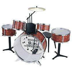 Kids 6 piece drum kit and stool £34.97 @  Tesco Direct... not a misprice!