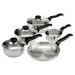 Ready Steady Cook Classic 5 Piece Saucepan Set was £40 now £20 del to store @ Sainsbury's