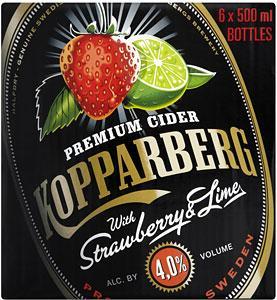6 Kopparberg 500ml bottles (Mixed Fruit or Strawberry & Lime) £10 @ Morrisons