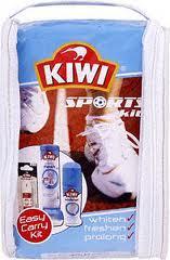 kiwi sports kit ..whitener, freshener and laces £1 @ poundworld
