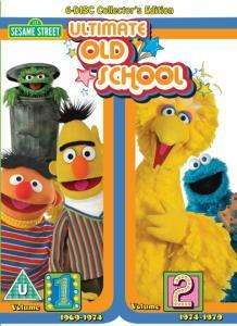 Sesame Street: Ultimate Old School (6 Disc DVD Boxset) £14.99 delivered @ Readers Digest