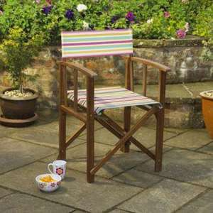 Sainsbury's Director's Chair Global Stripe £10 Instore