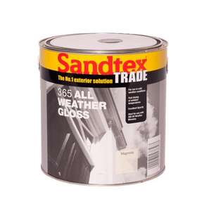 2.5l Sandtex exterior gloss paint £7.99 + £4.95 delivery - Brooklyn trading deal of the day