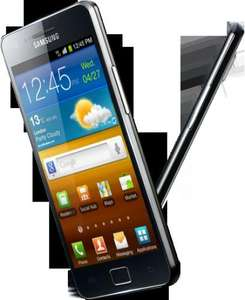 Samsung Galaxy S II (Black): free handset, £15.50/24 months - 50 mins, 250 texts, 750 MB data (or 100 mins, unlimited texts, 250 MB data) + free insurance at Tesco