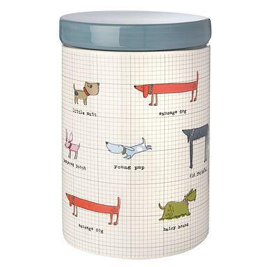 Gisela Graham White Ceramic Dog or Cat Treats Storage Jar was £20 now £5.40 del @ Debenhams (use codes YL36 & SHD1)