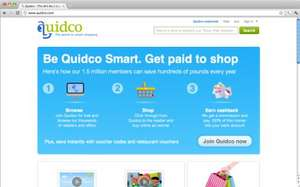 Google Chrome - Quidco Extension