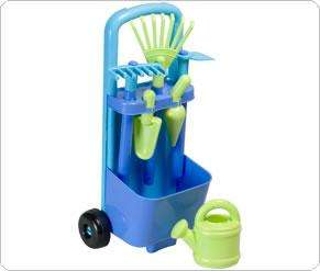 Rake and Hoe Trolley Blue or Pink Was £14.00 Now £5.60 Delivered With Code + Quidco @ ELC