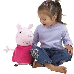 "Peppa Pig, Toys R Us. 14"" soft toy, half price £12.49 @ Toys R Us"
