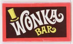 Willy Wonka & The Chocolate Factory WONKA BAR Including Free Golden Ticket £1.97 @ ebay lasvegasnicola