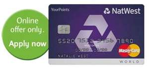 Natwest YourPoints Mastercard - 18 months interest free on purchases! + 2500 points free!