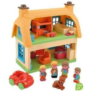 Happyland Rose Cottage half price at Argos. Was £30, now £15. R&C
