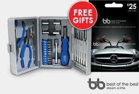 EVO Magazine 3x for £1 Offer Back On - Free 26 Pc Tool Kit & £25 Gift Card