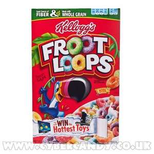 UK Froot loops £2.68/350g box at TESCO instore and online!!!!