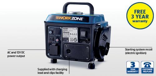 650W (800W peak) Generator £59.99 at Aldi