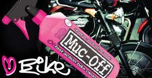 Free sample of Muc-Off bike cleaner