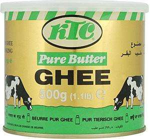 KTC Pure Butter Ghee (500g) for £2.50 @ Sainsburys