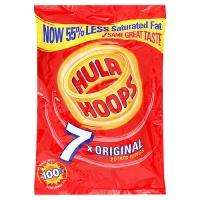 Hula Hoops - 7 pack - Poundland for....you guessed it £1