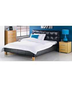 Benito Double Bed Frame In Black or White £74.99 + £8.95 = £83.94 Delivery @ Argos