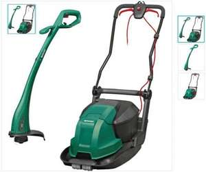Qualcast Lawn Twinpack - Electric Hover Lawnmower & Corded Strimmer £69.99 @ Argos R&C or Delivery