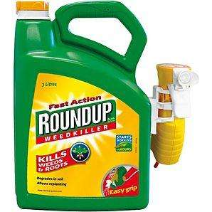 3 litres Fast Action  Roundup Weedkiller £2.50 from Asda Direct