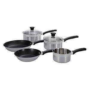 Tefal Banquet Saucepan and Frying Pan Set - 5 Piece, £40.00,Using Code: TEFAL1, Click + Collect @ Asda