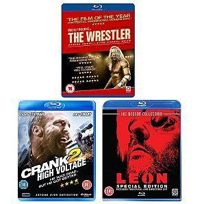 Leon + Wrestler + Crank 2 - High Voltage Blu-Rays - 3 for £10.00 Delivered @ Asda