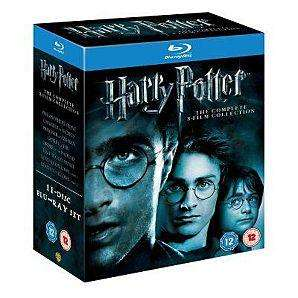 Harry Potter - all 8 films on Bluray at ASDA Direct £33.97
