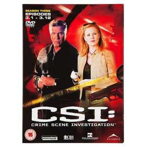 CSI DVDs £1 at Poundland - CSI NY, CSI Las Vagas
