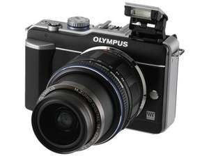 Olympus E-PL1 12MP Compact System Camera with 14-42mm lens  £199.99 @ Argos