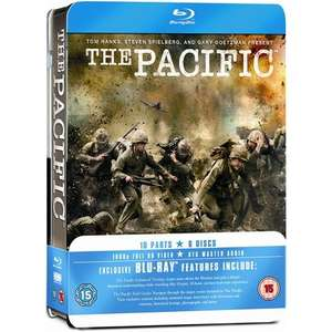 The Pacific: Collectors Tin (HBO) (6 Discs) (Blu-ray) £13.45 @ Play (Use Code EVENT25)
