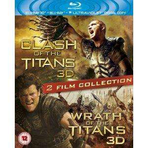 Pre Order: Clash of the Titans & Wrath of the Titans 3D blu ray £17.99 @ Amazon