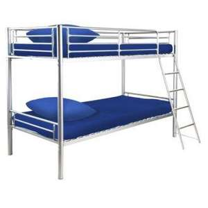 Metal Bunk Beds £74.25 delivered @ Sainsburys
