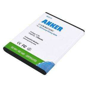 Anker 2700mAh Li-ion Battery for Samsung Galaxy Note Samsung I9220, Samsung GT-N7000 - White £7.99 (Sold by LaptopMateUK and Fulfilled by Amazon)